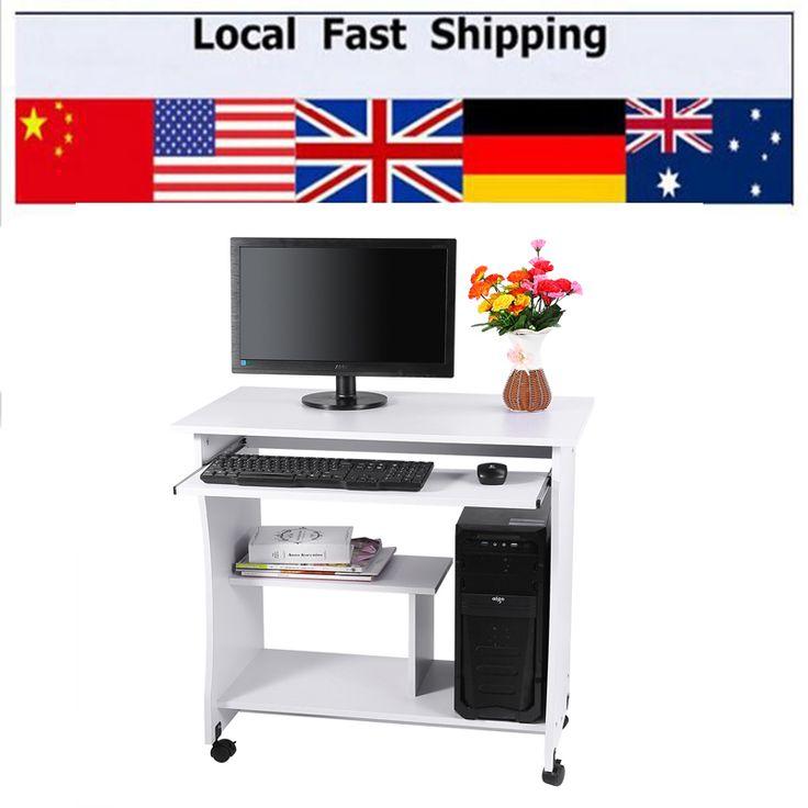 PC Computer Portatile Tavolo di Studio A Casa Mobili Per Ufficio Workstation Scrivania Angolo Nuovo