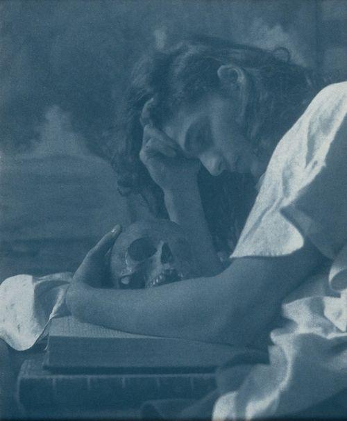 Melancholy, 1915 , 24 x 20 inches, gum bichromate print, 1991
