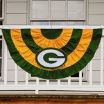 Green Bay Packers Team Bunting at the Packers Pro Shop