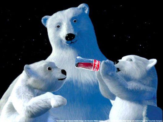 world of coca cola polar bear pictures - Google Search