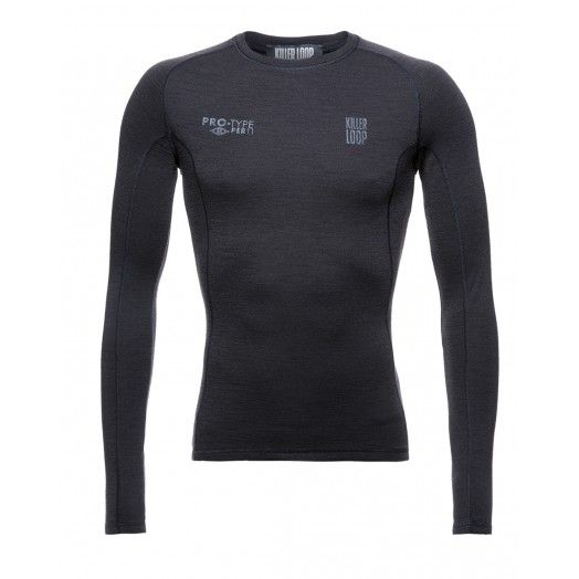 The Killer Loop baselayer simply combines the most efficient, lightweight and quick-drying fiber - polypropylene - and the most warm and soft natural fiber - Merino wool -  with style and comfort