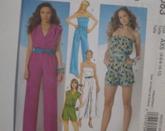 McCall's dress pattern 2028 Easy McCall's Misses by Edistreasures