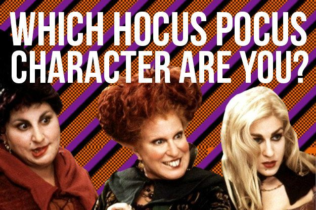 "Header by Jenny Chang: Which ""Hocus Pocus"" Character Are You"