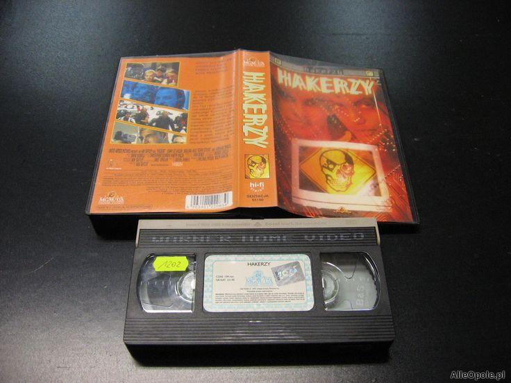 HAKERZY - kaseta VHS - 1015 Opole - AlleOpole.pl (Opole)