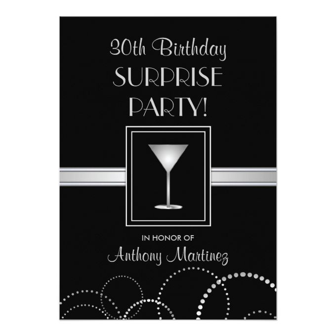 1341 best Retirement Party Invitations images – Zazzle 30th Birthday Invitations