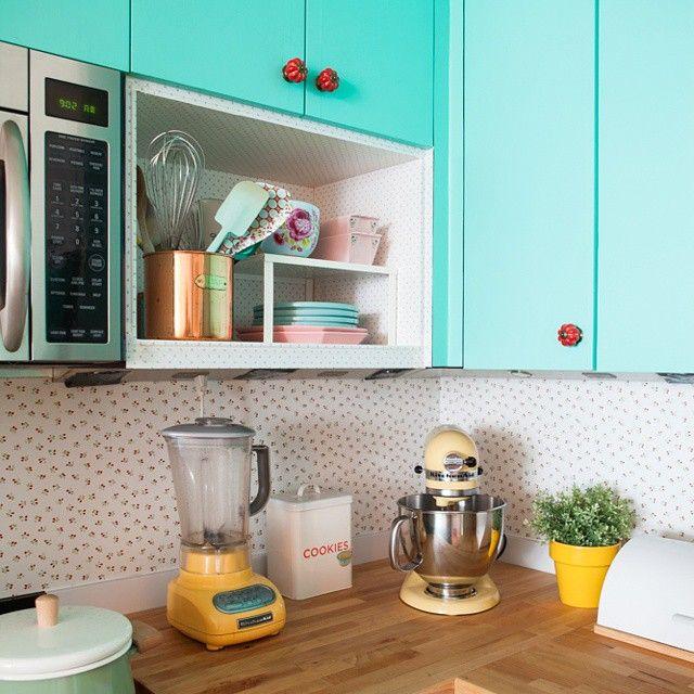 A cozinha mais alegre e colorida do #lifebylufe @dulcedelightoficial