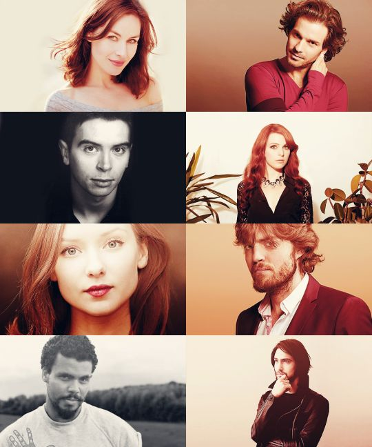The cast of The Musketeers