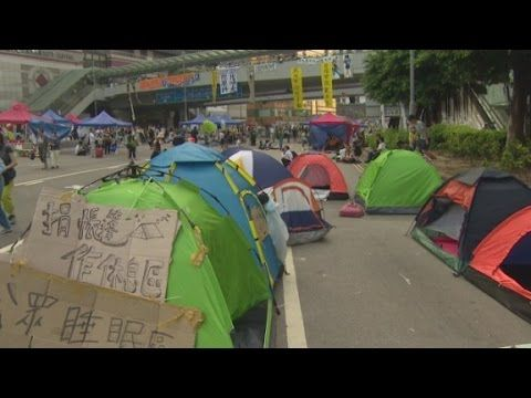 How Hong Kong is dealing with protestors