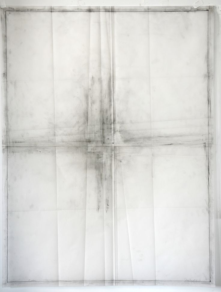 Jill Baroff - FEEDER - 2014 - ink and graphite on vellum ,126 x 96 cm