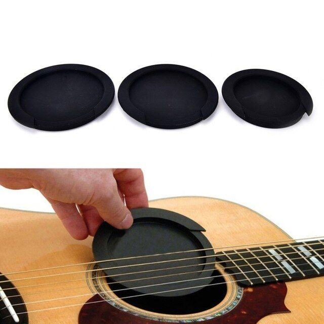 3 Sizes Silicone Acoustic Sound Hole Cover Buffer Block Stop Plug Classic Guitar Buster Guitar Parts Guitar Parts Classic Guitar Guitar