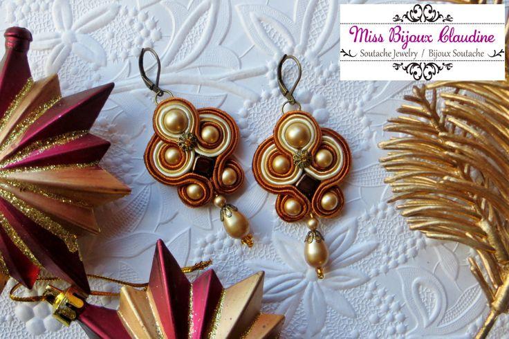 By Miss Bijoux Claudine - Soutache Earrings