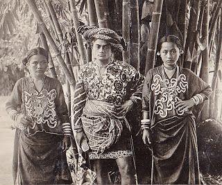 Chief of Galoempang, Toradja, Celebes (c1900)  Photographer unknown