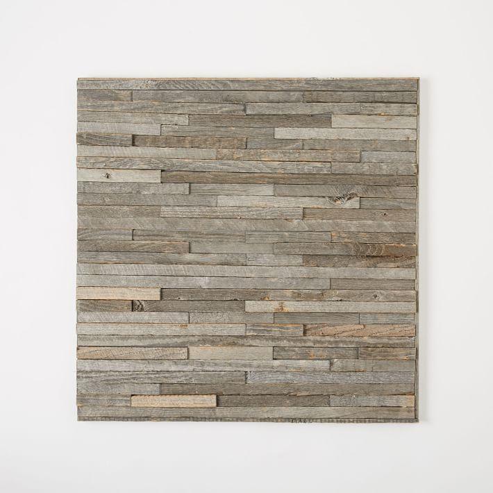 Glue On Wall Panels : Stikwood adhesive wood paneling sq set west elm