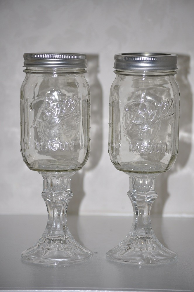 2 Sassy Southern Redneck Wine Glasses Hillbillly Wineglasses Iced Tea Mason  Jar