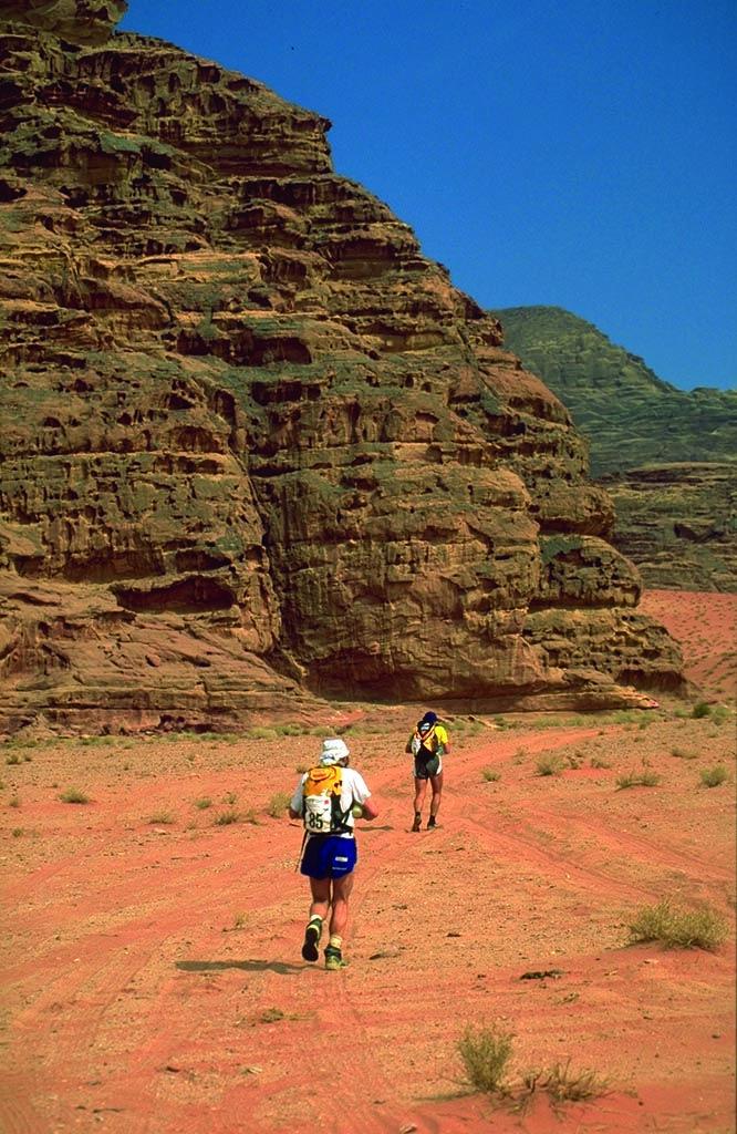 Marathon in Wadi Rum