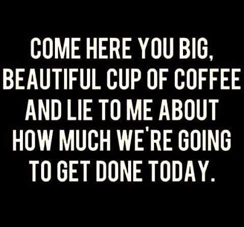 Coffee lies, and it's beautiful                                                                                                                                                                                 More