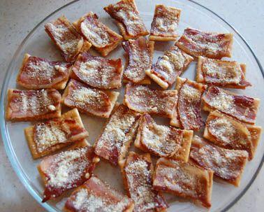 Bacon Super Bowl Appetizer – Crispy Bacon Parmesan Club Crackers | Bensa International