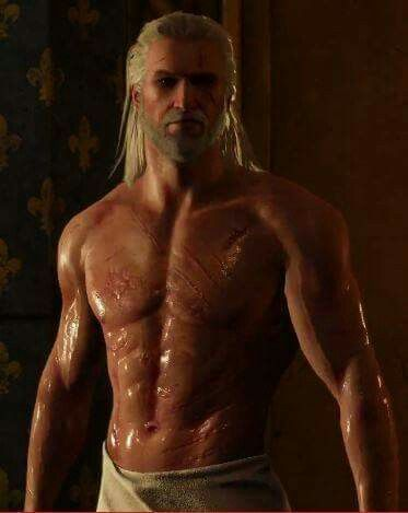 The Witcher 3: Wild Hunt-sexy Geralt ! http://thewitcher3ps4.com/the-witcher-3-gallery/