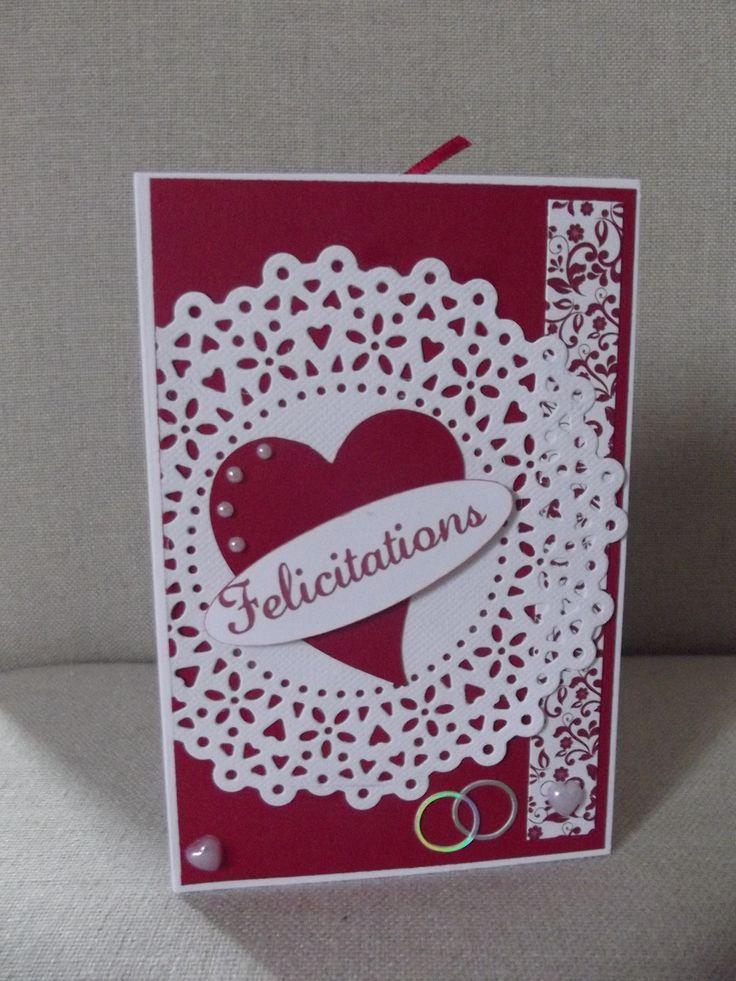 """Carte """"FELICITATIONS"""",Mariage,anniversaire, bienvenue, remerciements, felicitations, à personnaliser selon votre envie : Cartes par coco-et-ses-creations"""