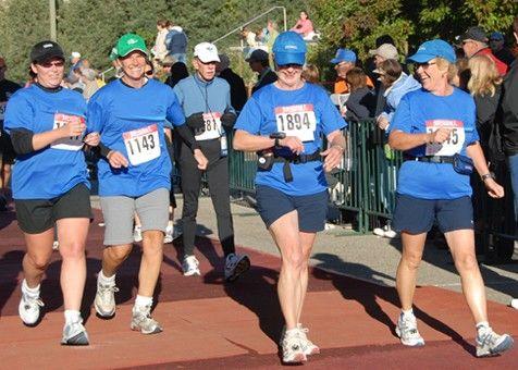 Walking a half marathon