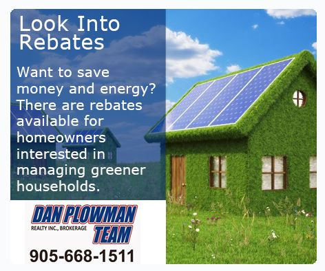 Want to save money and energy? There are #rebates available for #HomeOwners interested in managing greener households