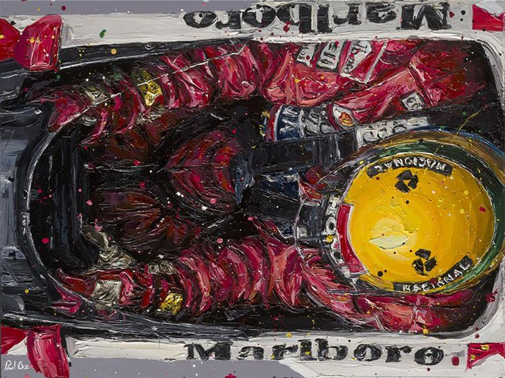Paul Oz is the buzz word in Formula One art; widely acclaimed for his explosive and energetic artworks and well-respected for his genuine passion for the sport.  We are proud to present to you this very limited edition, hand embellished Paul Oz print, which portrays Ayrton Senna in his McLaren cockpit.  Senna's distinctive yellow helmet practically bursts out of the print in 3D thanks to Paul's powerful artistic stroke style. A guaranteed head-turner, the image draws its ...