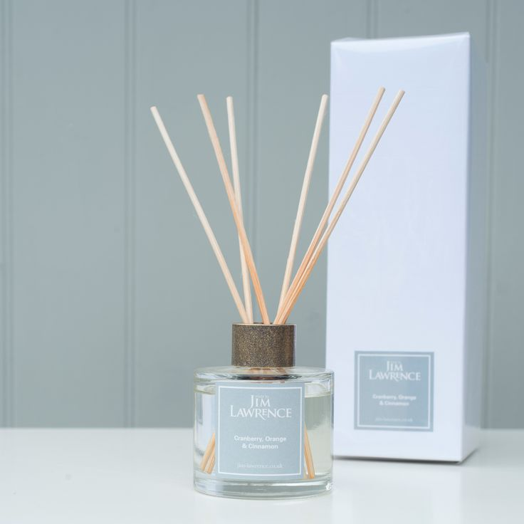Fill your #home with the delicate #scent of #Christmas with our beautiful new Reed #Diffuser; filled with #cranberry, orange and #cinnamon natural #oils.