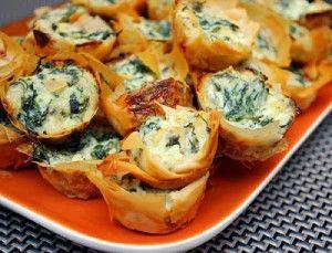 Recipe For  Spanakopita Bites � Greek Spinach Pie Bites