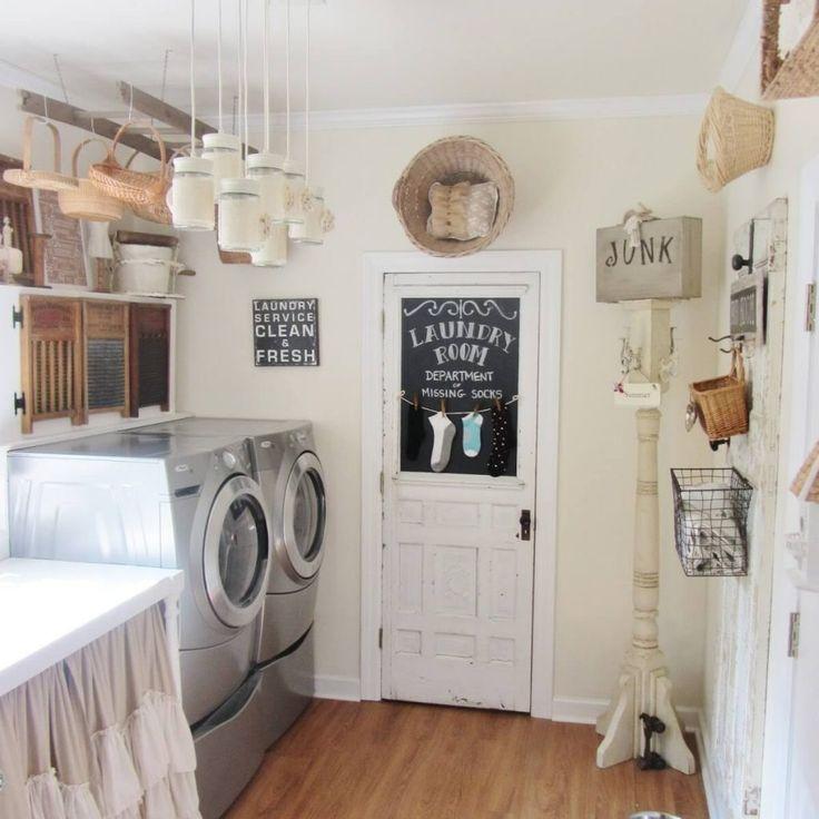 Laundry Room Decorating Ideas Photos