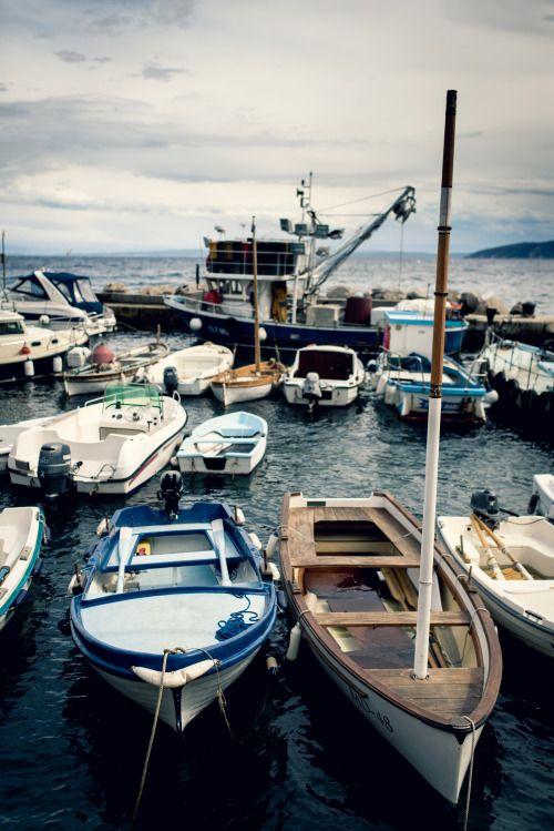 Mošćenička Draga - Croatia (by Roman Pfeiffer) IFTTT Tumblr Unforgettable boat rides to the beach...