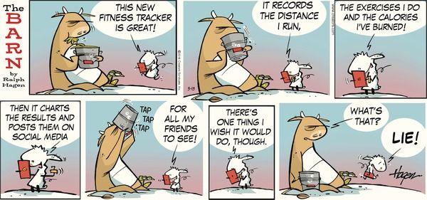 The Barn Comic Strip, March 13, 2016 on GoComics.com