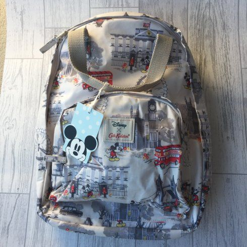 Disney X Cath Kidston Mickey Mouse London Backpack