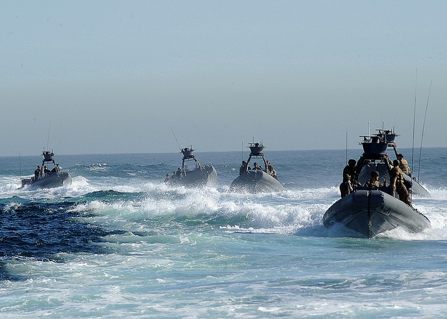 These Special Boat Teams transport Navy SEALS