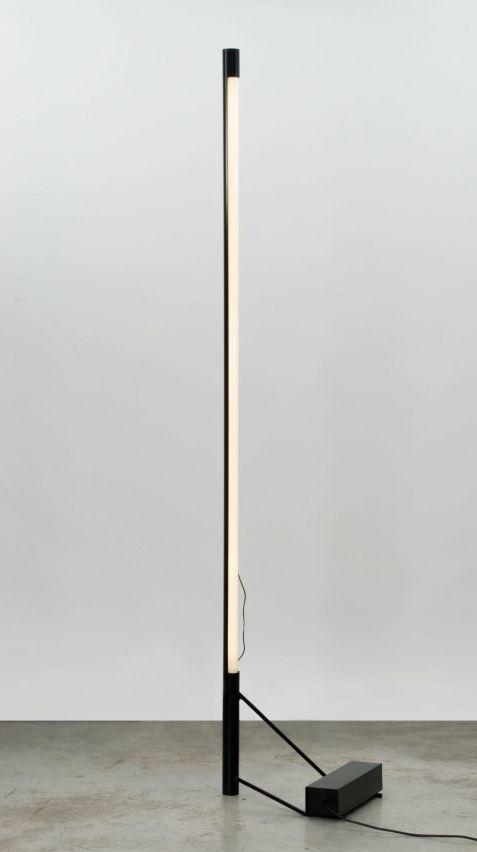 Gino Sarfatti -Enameled Steel Floor Lamp for Arteluce