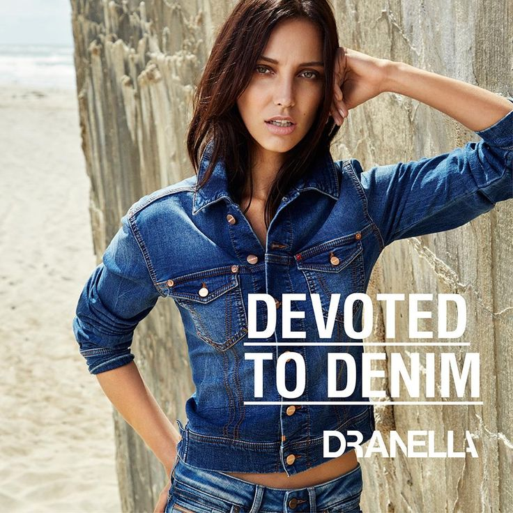 Denim is always cool ;-)