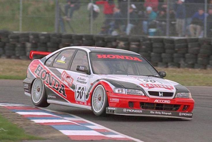 EX WORKS 1998 HONDA ACCORD BRITISH TOURING CAR CHAMPIONSHIP