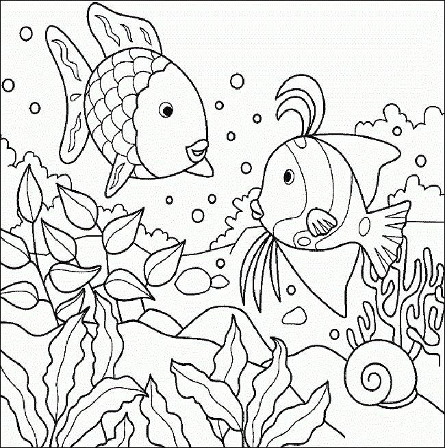 Mejores 27 imágenes de El pez arcoiris. Actividades. The