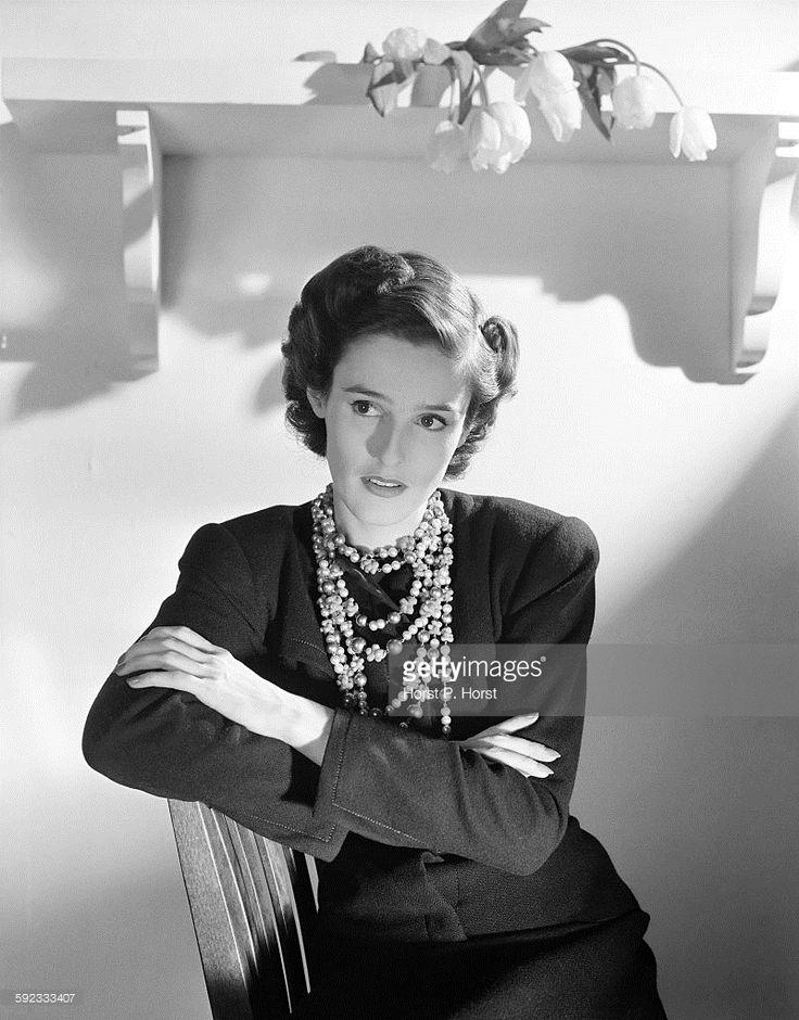 Portrait of Barbara Cushing Mortimer (aka Barbara Cushing, Babe Paley, Barbara Cushing Mortimer Paley, Mrs Stanley Grafton Mortimer, Mrs William Paley).