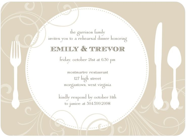 13 best Business Invites images on Pinterest Invites, Party - business dinner invitation sample