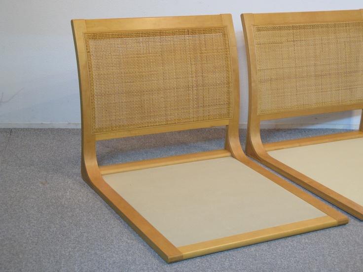 【アンティーク 古道具 JIKOH】天童木工 TENDO 座椅子 2本SET【楽天市場】
