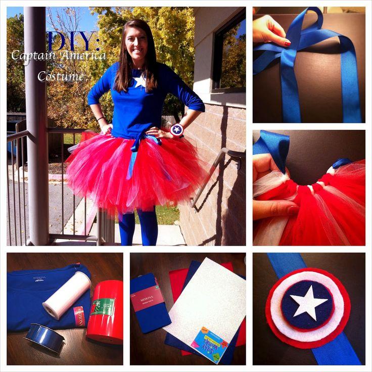 Creative Southern Belle: Halloween 2013 DIY: Captain America Costume