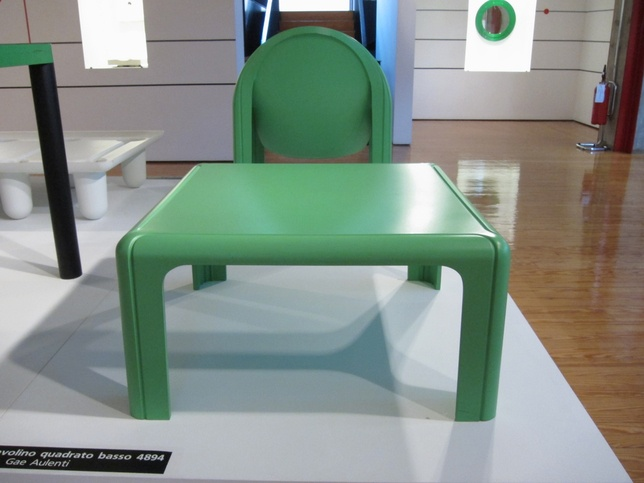 kartell museo gae aulenti green chair