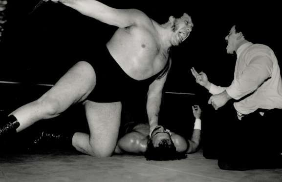 Andre The Giant - 7 feet 5 inches (2.26 meters) - Jeff Goode/Toronto Star via Getty Images/Getty Images
