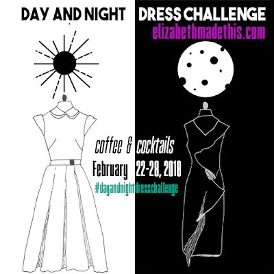 Ellen's Sewing Passion: Day and Night Dress Challenge 2018   Puzzle Dress ...