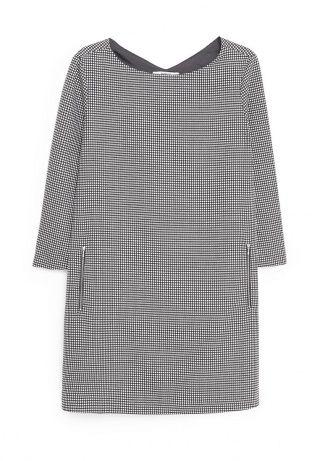 Платье Mango, цвет: серый. Артикул: MA002EWGBH02