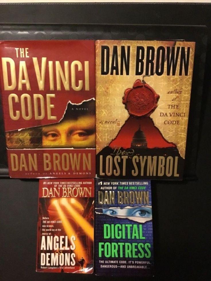 Dan brown collection davinci code angels demons lost