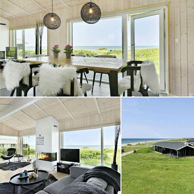 Ein wunderschönes und gemütliches Ferienhaus mit tollem Aublick. Perfekt für einen Urlaub mit Hund. #hygge #dänemark #denmark #urlaubmithund