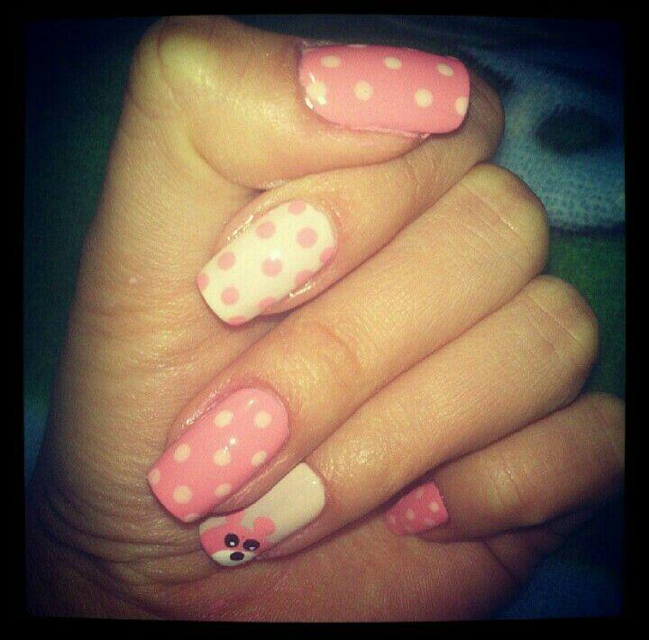 #Bear #Nails #Nailart