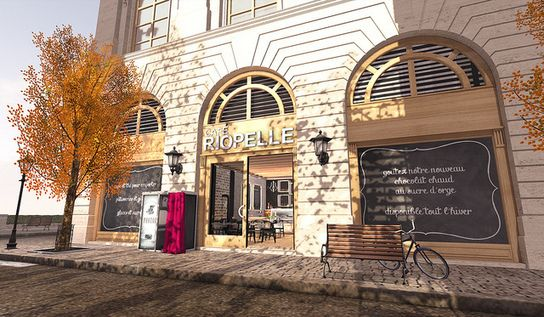 Café Riopelle is open!