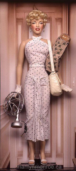 Marilyn Monroe Custom Dolls by Kim Goodwin | dolls ...